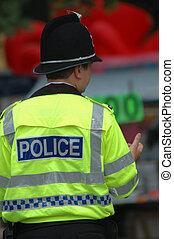 British police patrol