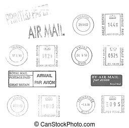 British postage meters