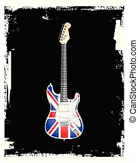 British Rock and Roll Guitar