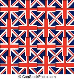 British seamless pattern