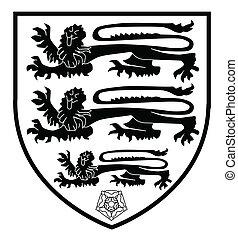 British Three Lions Crest - The traditional three lions...