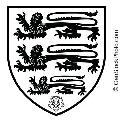 British Three Lions Crest - The traditional three lions...