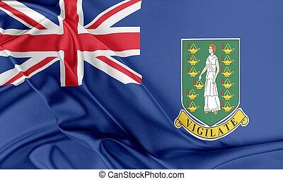 British Virgin Islands Flag.