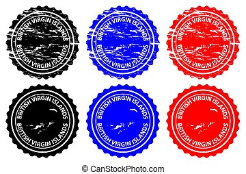 British Virgin Islands - rubber stamp