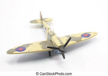British WWII Airplane