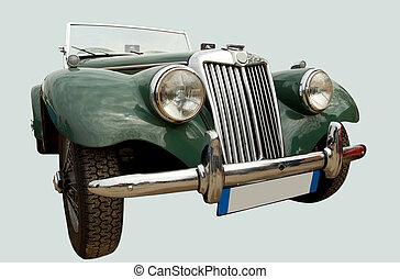 brits, ouderwetse , sportautootje