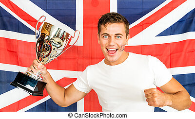 brits, sporten aanhanger