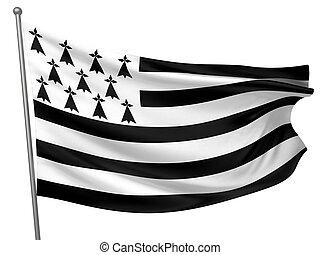 Brittany National Flag