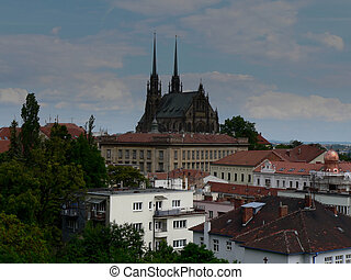 Brno, Cathedral Of St. Peter And Paul (Petrov)