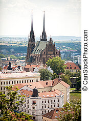 Brno. Cathedral.