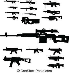 broń, zbiór