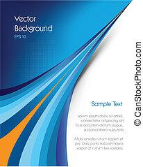brožura, grafické pozadí