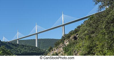 bro, av, millau, (france)