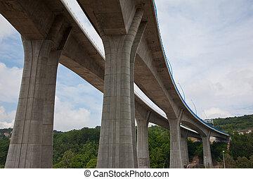 bro, motorväg
