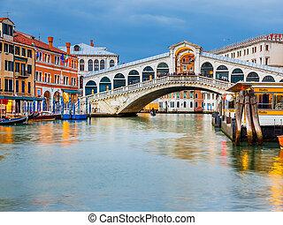 bro, rialto, halvmørket