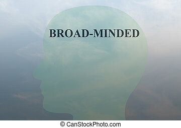Broad-Minded concept