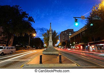 Broad Street in Athens, Georgia - ATHENS, GA - SEPTEMBER 18,...