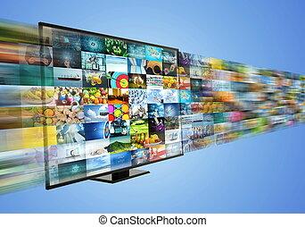 broadband , αναβλύζω , πολυμέσα , internet , διασκέδαση