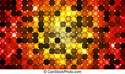 Broadcast Abstract Hi-Tech Smoke Bead Patterns, Multi Color, Abstract, Loop, HD