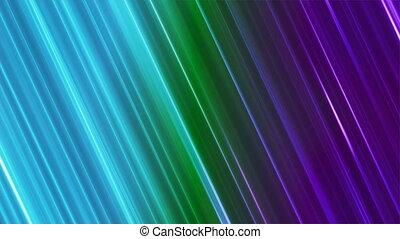 Broadcast Back Slant Hi-Tech Lines, Multi Color, Abstract, Loopable, 4K
