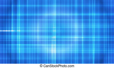 Broadcast Intersecting Hi-Tech Lines, Blue, Abstract, Loopable, 4K