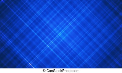 Broadcast Intersecting Hi-Tech Slant Lines, Blue, Abstract, Loopable, HD