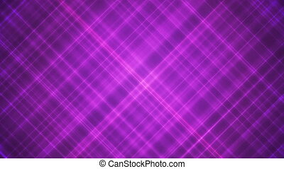 Broadcast Intersecting Hi-Tech Slant Lines, Magenta Purple, Abstract, Loopable, HD