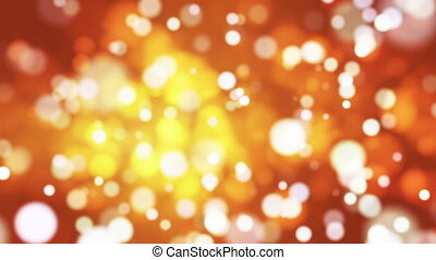 Broadcast Light Bokeh, Golden, Events, Loopable, HD - Thank...