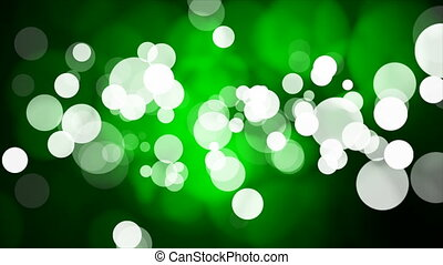 Broadcast Light Bokeh, Green, Events, Loopable, 4K - Thank...