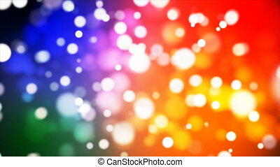 Broadcast Light Bokeh, Multi Color, Events, Loopable, 4K -...