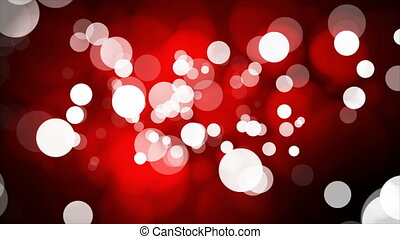 Broadcast Light Bokeh, Red, Events, Loopable, 4K - Thank you...