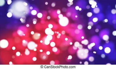 Broadcast Light Bokeh, Red Purple, Events, Loopable, 4K -...