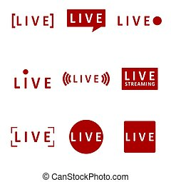 Broadcast mark live for video stream play
