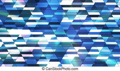 Broadcast Twinkling Diamond Hi-Tech Small Bars, Blue, Abstract, Loopable, HD