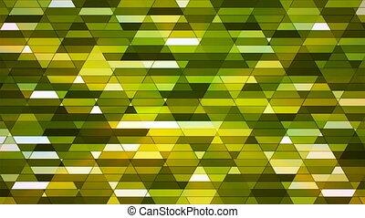 Broadcast Twinkling Diamond Hi-Tech Small Bars, Green, Abstract, Loopable, 4K