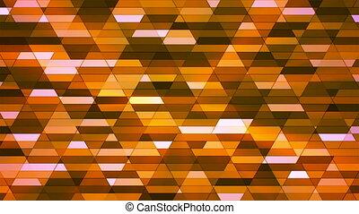 Broadcast Twinkling Diamond Hi-Tech Small Bars, Orange, Abstract, Loopable, 4K