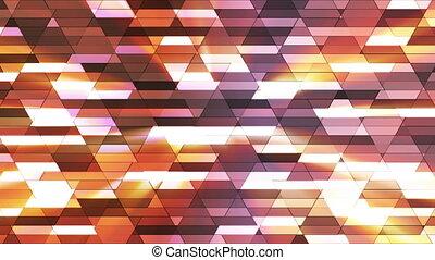 Broadcast Twinkling Diamond Hi-Tech Small Bars, Multi Color, Abstract, Loop, HD