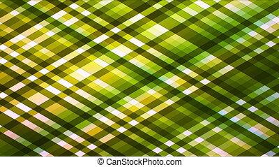 Broadcast Twinkling Diamond Hi-Tech Strips, Green, Abstract, Loopable, HD