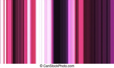 Broadcast Twinkling Hi-Tech Bars, Magenta, Abstract, Loopable, HD