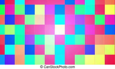 Broadcast Twinkling Hi-Tech Blocks, Multi Color, Abstract, HD