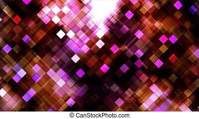 Broadcast Twinkling Hi-Tech Blocks, Red Magenta, Abstract,...