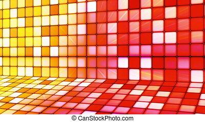 Broadcast Twinkling Hi-Tech Cubes Stage, Multi Color,...