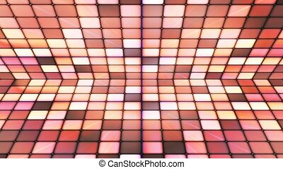 Broadcast Twinkling Hi-Tech Cubes Stage, Brown, Abstract,...