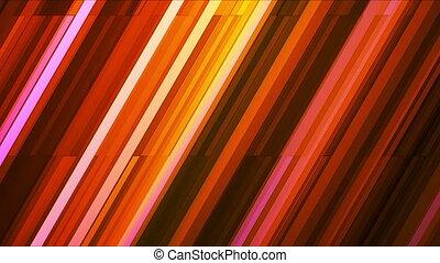 Broadcast Twinkling Slant Hi-Tech Bars, Multi Color, Abstract, Loopable, HD