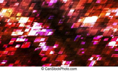 Broadcast Twinkling Slant Hi-Tech Squares, Multi Color,...