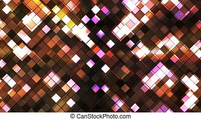 Broadcast Twinkling Squared Diamonds, Brown, Abstract, Loopable, 4K