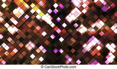 Broadcast Twinkling Squared Diamonds, Brown, Abstract, Loopable, HD