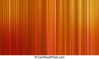 Broadcast Vertical Hi-Tech Lines, Orange Golden, Abstract, Loopable, HD