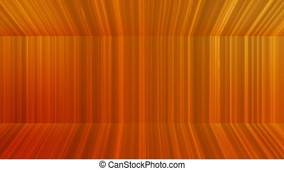 Broadcast Vertical Hi-Tech Lines Passage, Orange, Abstract, Loopable, 4K