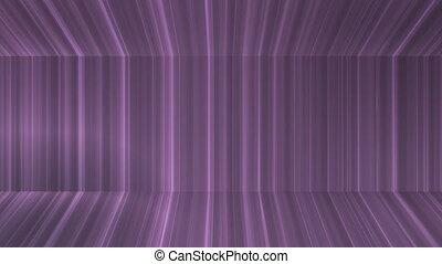 Broadcast Vertical Hi-Tech Lines Passage, Purple, Abstract,...